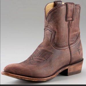 Frye billy short pull on boot 91-2